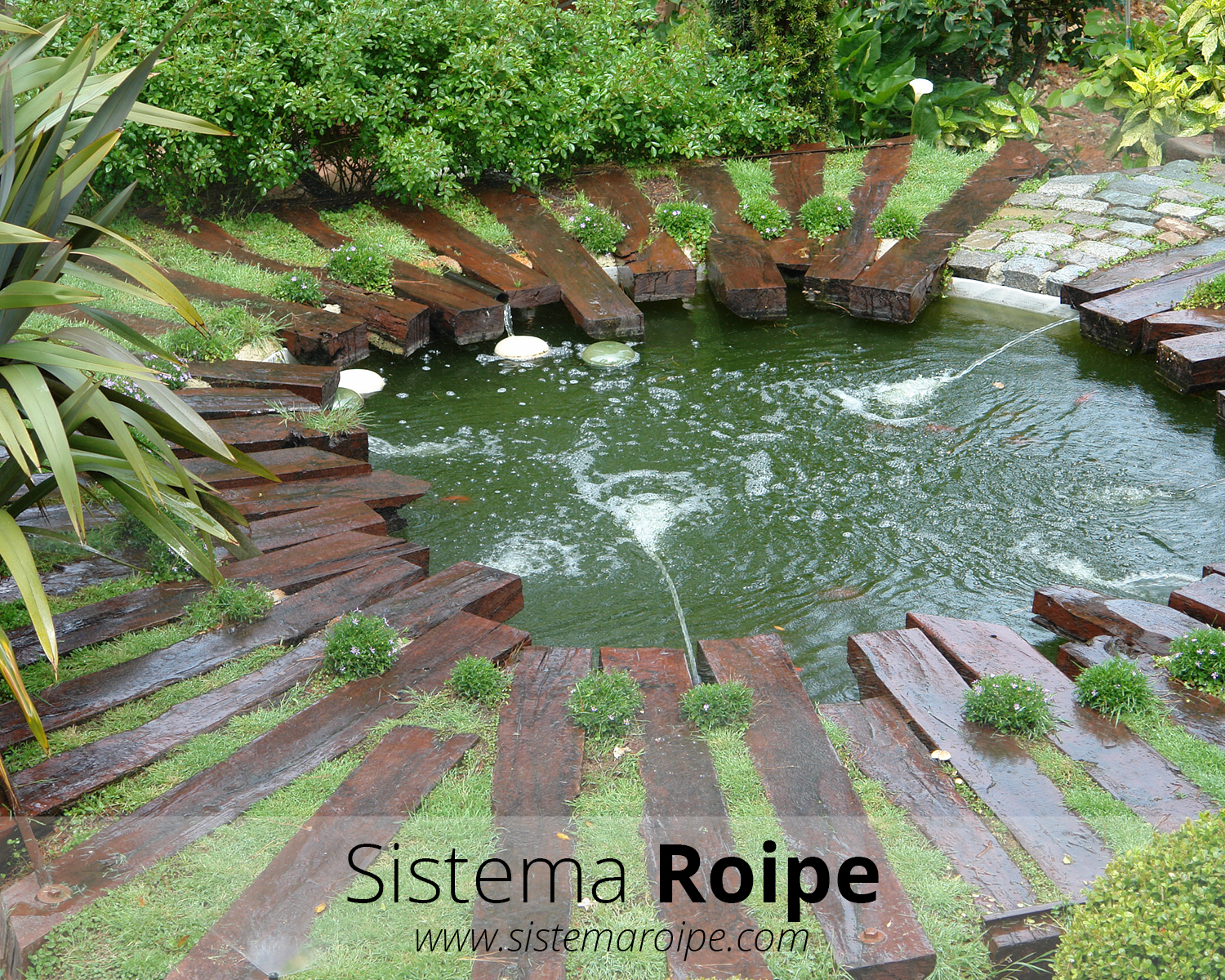 Sistema roipe for Fabrica de estanques de agua