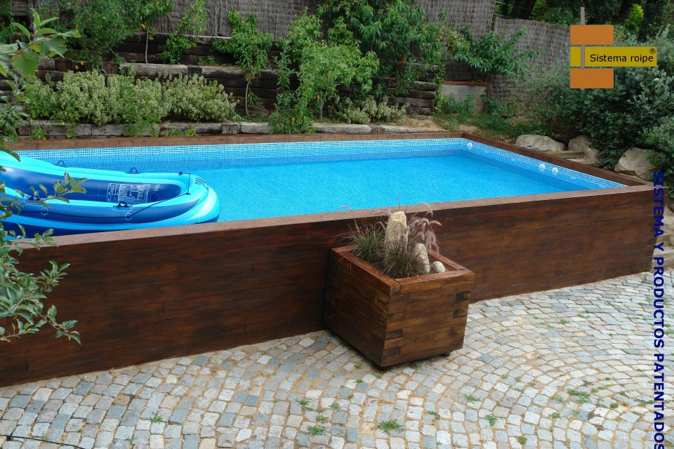 Autoconstruction piscine bois autoport e - Autoconstruction piscine ...